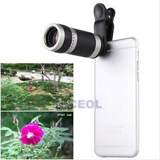 Universal 8X Zoom HD Optical Lens Telescope For Mobile iPhone Cellphone Camera