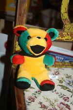 "IRIE Grateful Dead Bean Bear Collection Liquid Blue 7"" PlushVintage 3/26/88"