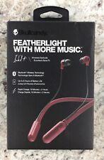 Skullcandy - Ink'D+ Wireless In-Ear Headphones - Moab Red - Factory Sealed
