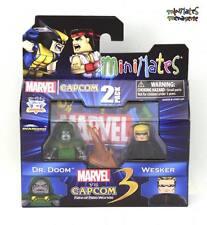 Marvel vs Capcom 3 Minimates Wave 3 Dr. Doom vs Wesker