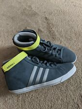 Adidas Neo Women Size 8 In Grey Suede Leather