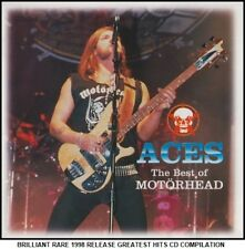 Motorhead Very Best 20 Greatest Hits Collection Heavy Metal CD Lemmy Girlschool