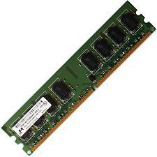 Micron 2GB DDR2 PC2-6400 800MHz Desktop Memory  free Post Brand Quality ram