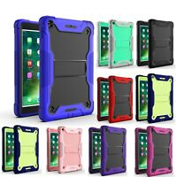 """Heavy Duty Case Stand Cover For New iPad 9.7 2017/18 Mini 4/5 Pro 11"""" 10.2""""-inch"""