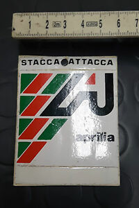 APRILIA STICKER DECAL EPOCA