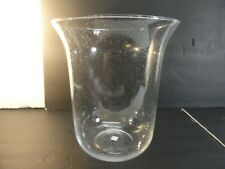 PartyLite Bubble Glass Hurricane Replacement Candle Holder For Verona Seville