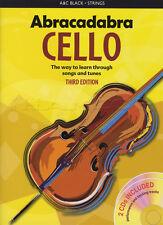 Abracadabra para violonchelo 3rd Edición Libro De Partituras Con CD Aprende A Jugar