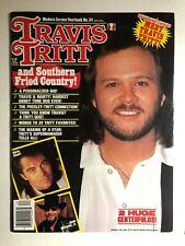 TRAVIS TRITT Modern Screen Yearbook Magazine #34 1992 posters intact