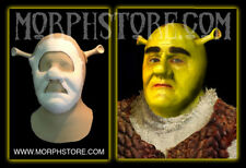 Shrek (Rubber Cowl, Foam Face and Ears) Set/Face/Brows/Mask