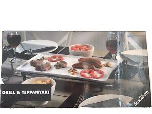 ELETTRICO Teppanyaki Piano Del Tavolo Grill Griglia Piastra BISTECCA CUCINA PIETRA