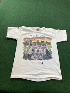 Yankees 2000 World Series Champions Shirt Youth Medium 10/12 Subway Series Shirt