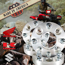 "USA MADE | ATV 1"" Honda Suzuki Kawasaki Wheel Adapters Spacers | 4x110 to 4x137"