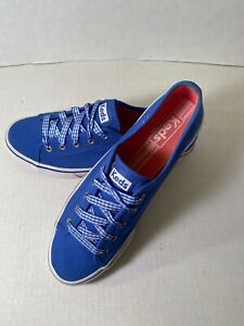 Keds Women's Athletic Slip On Sneakers Blue Size 8