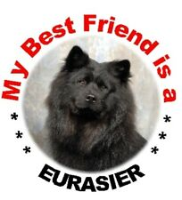 2 Eurasier Car Stickers - Starprint