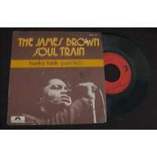 THE JAMES BROWN SOUL TRAIN - Honky Tonk Parts 1&2 French PS Soul Funk 1972