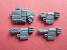 Space Marine Mark IV (4) ArmourCOMBI WEAPON SET  - Bits - Betrayal at Calth