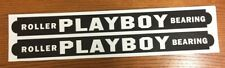 Playboy Roller Bearing Wagon Pull Toy Replacement Stickers    WA-004
