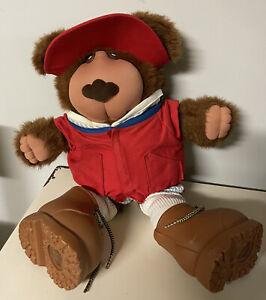 Furskins Bear Stuffed Animal Spitball Baseball Outfit Xavier Roberts Doll