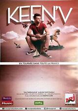 Keen'v - Saltimbanque - Tournée 2014/2015 - 70x100cm Affiche / Poster Neuf