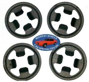 NOS Chrysler Door Quarter Window Crank Regulator Roller Stud Clip Push Nut 4p OM