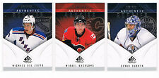 2009-10 MICHAEL DEL ZOTTO UD SP GAME-USED ROOKIE #134 RANGERS #281/699