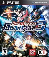 Dynasty Warriors Gundam 3 Sony PlayStation 3, 2011 VIDEO GAME