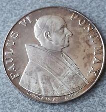 PAOLO VI - Medaglia in argento FRACOR 1975 Anno Santo