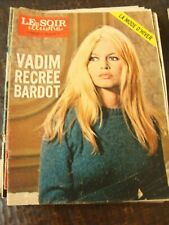 Le Soir Illustré - 24/8/1972 - Vadim recrée Bardot - Oufkir - Olivier Gendebien