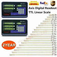 32axis Digital Readout Dro 5m 00002 Linear Scale Encoder For Mill Lathe Cnc