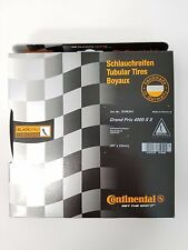 "Continental Grand Prix GP4000S II Tubular Tire 28"" x 22mm Black Chili 240 TPI"
