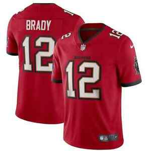 New 2021 Tampa Bay Buccaneers Tom Brady Nike Vapor Untouchable Limited Jersey 12