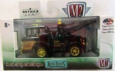 M2 Machines 1/64 1970 Ford C-600 Wrecker Gold Chase 1 of 750 Acrylic Case