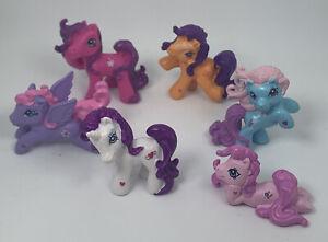 My Little Pony figures x 6 small ponys