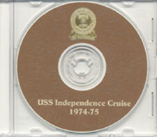 USS Independence CV 62 1974 1975 Cruise Book CD RARE