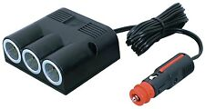 Construction Cigarette Lighter 3xPower Socket of Cable Connector Motorhome