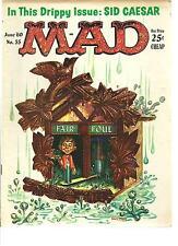 MAD MAGAZINE #55 (JUNE 1960)  VERY GOOD