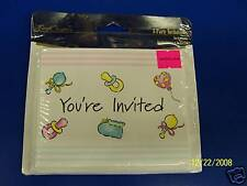 Converting Baby Shower Party Invitations w/Envelopes