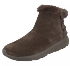 New Womens Skechers On The Go City 2 Chocolate Boots Size 11