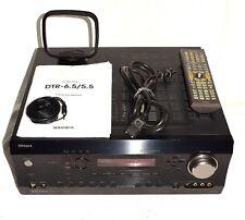Integra DTR-5.5 AV Stereo Receiver with Original Remote & Manual ~ FREE Shipping