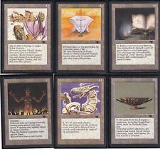 Lot de x6 cartes Antiquities Golgothian Sylex... MAGIC MTG ENGLISH 1994 EX-NM
