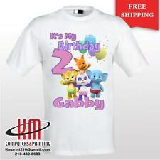Word Party Lulu Custom T-shirt PERSONALIZED Birthday Shirt
