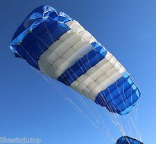 Atair Impulse 120 skydiving parachute canopy - 9 cell ZP - manufactured 09/2000