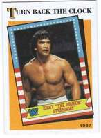 2016 Topps WWE Heritage Wrestling Turn Back the Clock #3 Ricky Dragon Steamboat
