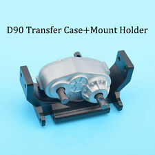 D90 1/10 Rock-Crawler Case with Mount Holder Scx10 Transfer Case Upgrade Parts