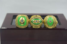 3pcs 1961 1965 1967 Green Bay Packers World Championship Ring --