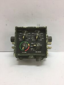 Electrical Control Panel 5483600-001 SCI Tocnet Radio Interface Hmmwv
