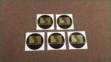 x5 Saleen Ford Mustang Wheel Caps Sticker Vinyl 67mm Decals Self Adhesive Emblem