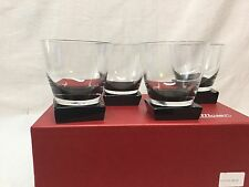 Moser Lancelot Double Old Fashioned -  Smoke - Gray - Set Of 4