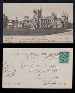 77-ONTARIO -1904 Toronto University (Sent in 1904)(Undivided Back (c. 1901-1907)