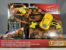 Mattel Disney Cars Crazy Cars3 Spielzeug Auto 2-Pack Fahrzeug Spielauto gelb